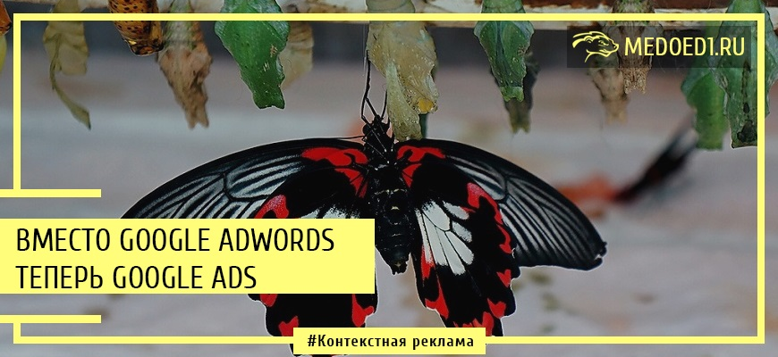 На смену Google Adwords пришел сервис Google Ads